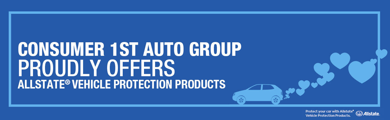 Allstate Vehicle Protection Products Banner