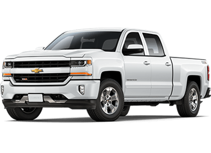 Chevy white truck